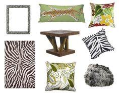 Walk on the Wild Side with Zebra Print and Safari-Inspired Decor
