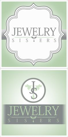 Logo Design for Jewelry Sisters. Check them out at  http://www.facebook.com/JewelrySistersLLC