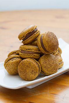 Mexican Chocolate Macarons
