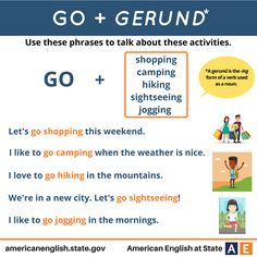 Go + Gerund. What are you going to do this weekend? I'm going to go jogging on Saturday! How about you?