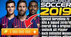 Download DLS 19 Mod Barcelona  -  This is one good soccer game. Good graphics quality, gameplay is quite satisfying, lightweight, off... Android Mobile Games, Barcelona Soccer, Barcelona Players, Offline Games, Point Hacks, Play Hacks, App Hack, Ios, Android Hacks