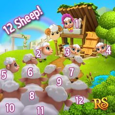 Happy Weekend Quiz Result! Play Now!  http://t.funplus.com/trenfpu  The results from last Saturday's quiz are in!  There are 12 sheep in total!  The 5 lucky players who have been rewarded for giving the right answer are:  - Nikki Bao - Carol Utting - Mary Stone - Joyce A. Manley - Cindy Agosto Torres  Congratulations you've all been rewarded 1 RUBY! Thanks to everyone that participated and hope you have a great week together with Royal Story. See you again on Saturday!  Click Like & Share…