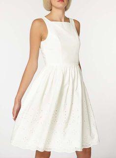 801e678d60eed8 Vero Moda White Embroidered Dress