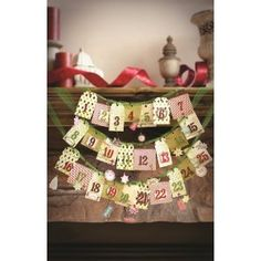 Cute Advent Calendar Kit for only $14