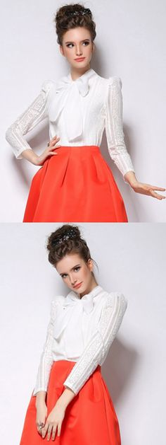 LOVE it, This is white lace blouse,so cute!