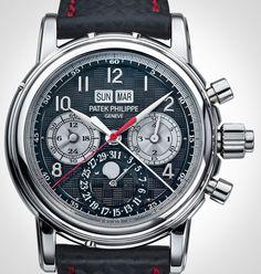 Patek Philippe Creates Unique 5004 Split-Seconds Perpetual Calendar In Titanium For Only Watch 2013