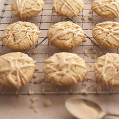 Almond-Cinnamon Cookies From Better Homes and Gardens, ideas and improvement projects for your home and garden plus recipes and entertaining ideas.