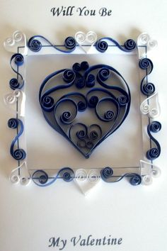 Easy Handmade Quilled St Valentines Day Card http://wandasworx.com/pages_blog/easy-handmade-quilled-st-valentines-day-card/