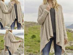 Knitted Jacket Free Pattern