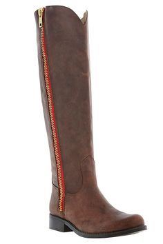 Steve Madden Ruse Long Double Zip Knee High Boot
