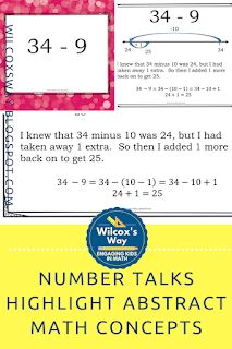 Number talks in your middle school math classroom can highlight some abstract math concepts and make them more concrete Standards For Mathematical Practice, Math Properties, Mental Math Strategies, Number Talks, Order Of Operations, Secondary Math, 8th Grade Math, Math Practices, Math Concepts
