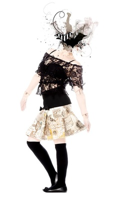 Une autre superbe création de Putré Fashion Quebec, Creations, Goth, Ballet Skirt, Skirts, Design, Style, Fashion, Other
