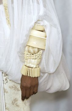 İvory bracelets.. (Not actual ivory of course!!)