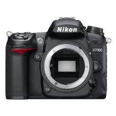 Nikon D7000 SLR-Digitalkamera (16 Megapixel, 39 AF-Punkte, LiveView, Full-HD-Video) Gehäuse