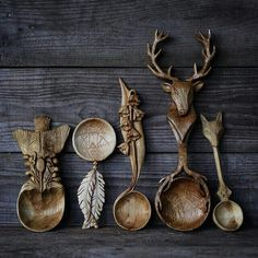 Nature inspired cutlery