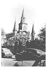 Jackson Square in 1953