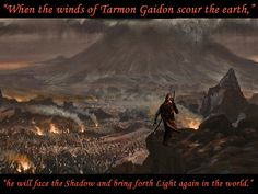 Using pictures I found on the Internet I created my own interpretation of Rand at Shayol Ghul before Tarmon Gai'don.
