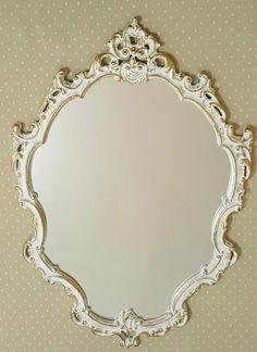 espelho decorativo barrock veneziano com moldura em resina