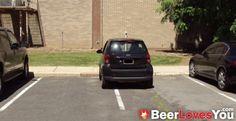Smart car my ass!! #BeerLovesYou