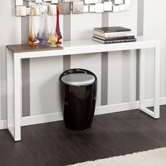 Holly & Martin Lydock Console Table - White | from hayneedle.com