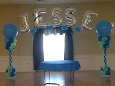 Another one of Glam-It-Up Exclusive Designs custom balloon structures