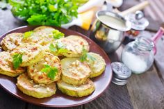 Quick Appetizer Recipe: Cheesy Parmesan Zucchini Crisps - Replace milk with almond or flax milk. Vegetable Recipes, Vegetarian Recipes, Cooking Recipes, Healthy Recipes, Quick Appetizers, Appetizer Recipes, Appetizer Dishes, Snack Recipes, Zucchini Crisps