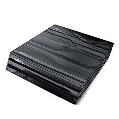 Skins4u® Sony Playstation 4 PRO Skin Premium Design Vinyl Schutzfolie Sticker Aufkleber Set für PS4 PRO - Plated