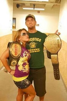 Are john cena and mickie james dating in real life