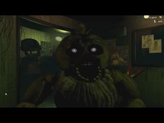Phantom Chica Jumpscare Fnaf Jumpscares, Freddy Fazbear, Freddy S, Five Nights At Freddy's, Scary, Darth Vader, Superhero, Fictional Characters, Madness