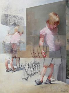 Chris Gwaltney at Seager Gray Gallery showing New York Sidewalk Puddles from London an abstract painting with strong_ daring use of color. Art Painting, Figure Painting, Painting Illustration, Art Drawings, Painting, Art, Figurative Art, Portrait Art, Interesting Art