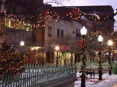 Downtown Cumberland Christmas Lights