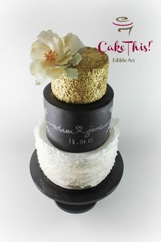 Elegant Wedding Cake - Cake by Cake This