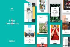 Instagram Stories Template by EightonesixStudios on Envato Elements