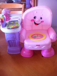 Fisher Price Laugh And Learn Musical Activity Chair