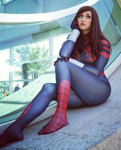 "Spider-Woman."" -May Parker by November Cosplay"