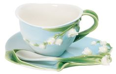 Charming Lilly of the Valley cup and saucer...