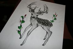 fawn tattoo on pinterest baby deer tattoo tribal animals and bambi tattoo. Black Bedroom Furniture Sets. Home Design Ideas