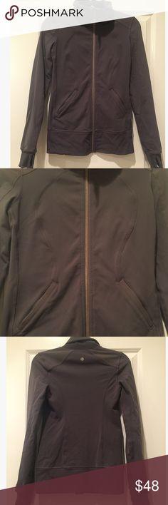 Lululemon Define Jacket Size 4 In excellent condition.  Only missing tag inside.  Color is a grey slate! lululemon athletica Jackets & Coats