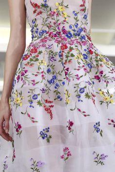 Oscar de La Renta Ready To Wear Spring Summer 2015 New York