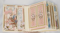 Inside front cover and p.1 Gilded Lily GR45 Terrys Scrapbooks