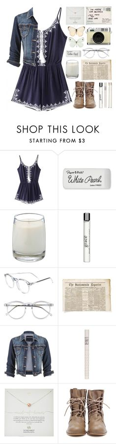 """."" by indie-by-heart ❤ liked on Polyvore featuring Retrò, Paper Mate, Le Labo, philosophy, Wildfox, maurices, Topshop, Dogeared and Kate Spade"