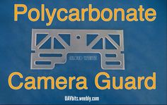 Protect your #DJI #phantom #camera with the bullet proof material-polycarbonate camera guard. UAVbits.weebly.com