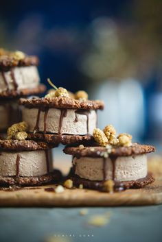 cocoacoconut ice cream sandwiches by claire gunn