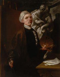 Pietro Ligari. Autoritratto. Sondrio, Museo di Storia e Arte. Painting, Museum, Art, Painting Art, Paintings, Painted Canvas, Drawings