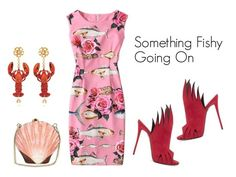 """Something Fishy Going On"" by sjlew ❤ liked on Polyvore featuring Dolce&Gabbana"