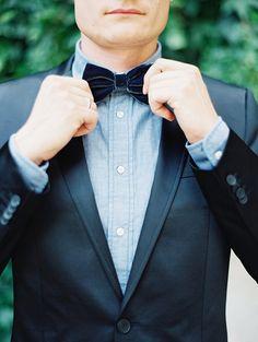 Romantic Blue  Ivory Wedding Inspiration