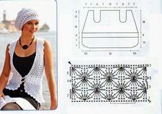 Conjunto Chaleco y Gorro Patron - Patrones Crochet