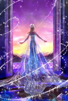La reine des neiges de Disney