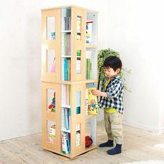 【2】 本棚など活用的なものは沢山入る物または増やしていけるタイプの物を使いましょう!