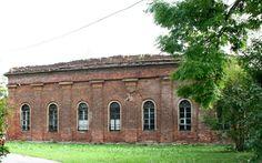 Serres du Parc Alexandre - Pavillon Abandonné - Tsasrkoïe Selo - Construit de 1819 à 1830 sur les plans de l'architecte Adam Menelaws.